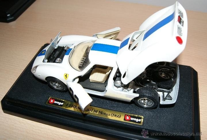 Coches a escala: Lote Coches Mercedes-Benz SSK 1928 / Ferrari F40 1987 / Ferrari 250 LM Monza 1966 - Burago - Foto 3 - 41436932