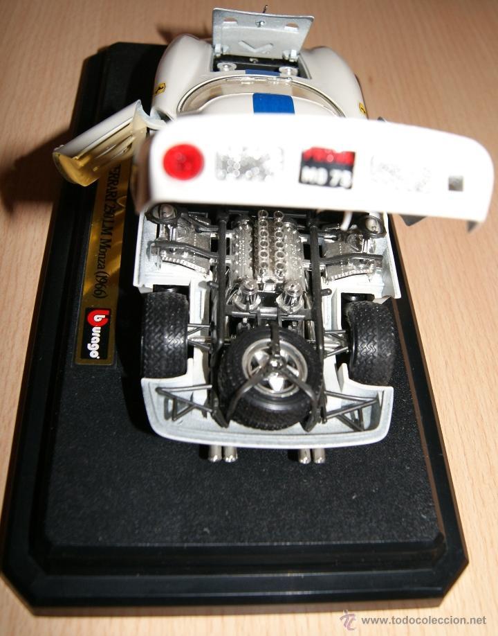 Coches a escala: Lote Coches Mercedes-Benz SSK 1928 / Ferrari F40 1987 / Ferrari 250 LM Monza 1966 - Burago - Foto 4 - 41436932