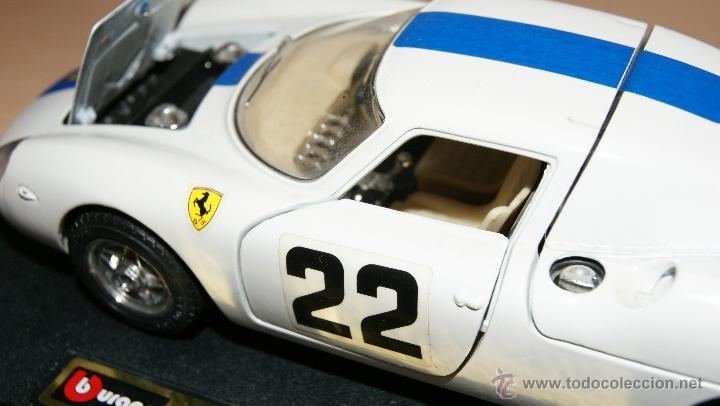 Coches a escala: Lote Coches Mercedes-Benz SSK 1928 / Ferrari F40 1987 / Ferrari 250 LM Monza 1966 - Burago - Foto 5 - 41436932