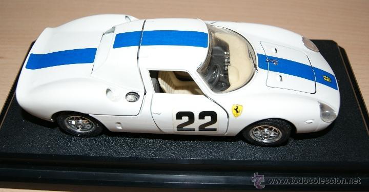 Coches a escala: Lote Coches Mercedes-Benz SSK 1928 / Ferrari F40 1987 / Ferrari 250 LM Monza 1966 - Burago - Foto 6 - 41436932