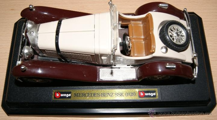 Coches a escala: Lote Coches Mercedes-Benz SSK 1928 / Ferrari F40 1987 / Ferrari 250 LM Monza 1966 - Burago - Foto 8 - 41436932