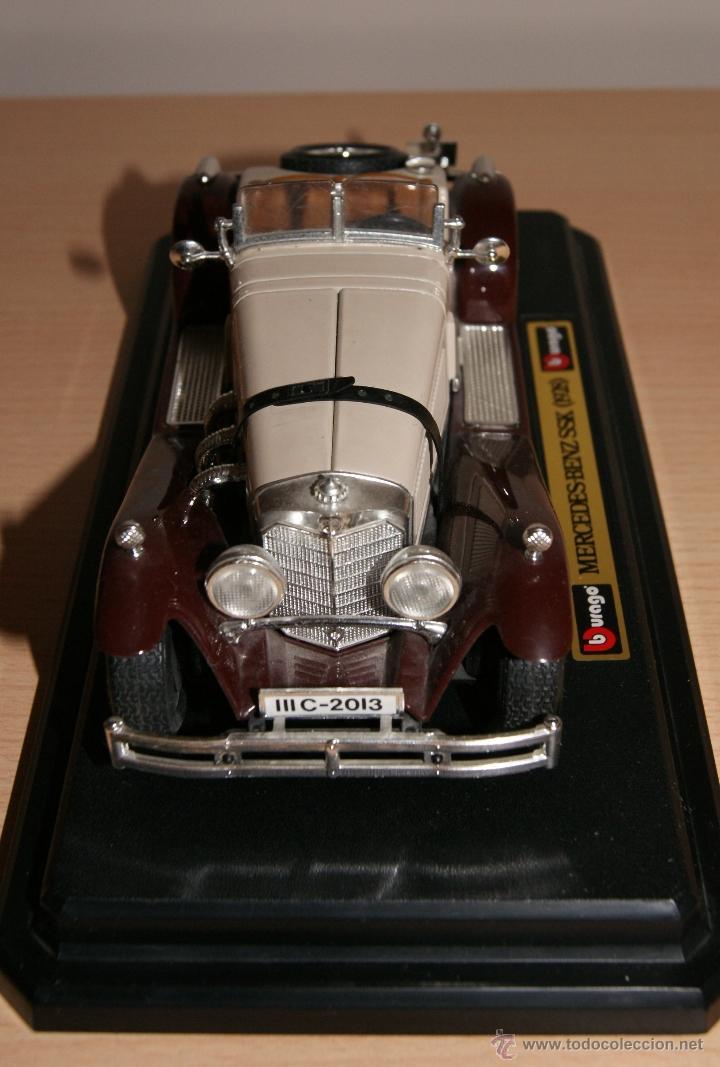 Coches a escala: Lote Coches Mercedes-Benz SSK 1928 / Ferrari F40 1987 / Ferrari 250 LM Monza 1966 - Burago - Foto 9 - 41436932