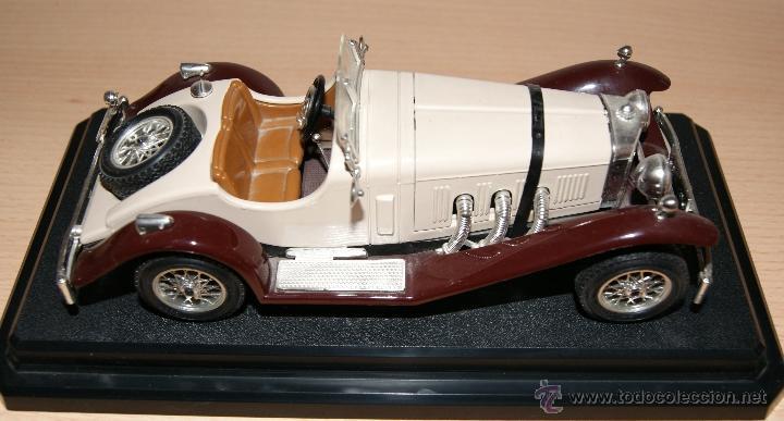 Coches a escala: Lote Coches Mercedes-Benz SSK 1928 / Ferrari F40 1987 / Ferrari 250 LM Monza 1966 - Burago - Foto 10 - 41436932