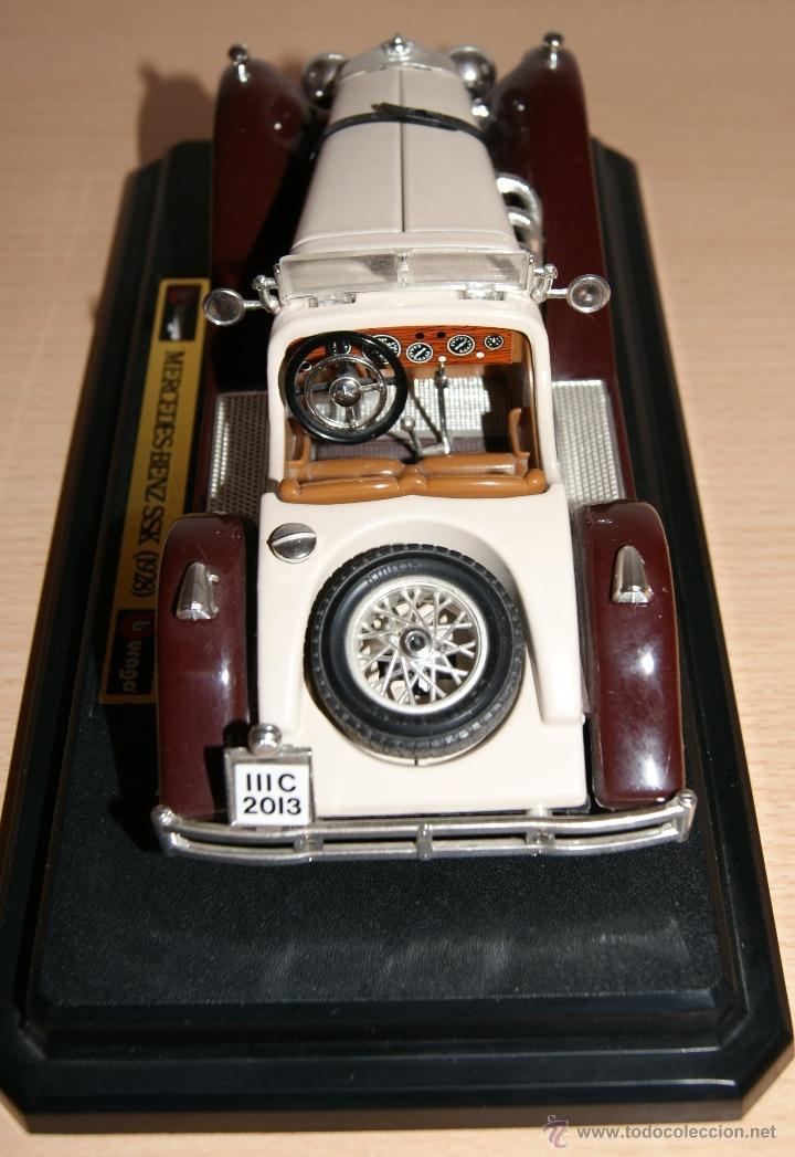 Coches a escala: Lote Coches Mercedes-Benz SSK 1928 / Ferrari F40 1987 / Ferrari 250 LM Monza 1966 - Burago - Foto 11 - 41436932