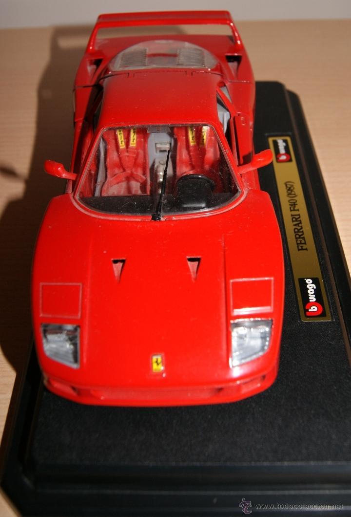 Coches a escala: Lote Coches Mercedes-Benz SSK 1928 / Ferrari F40 1987 / Ferrari 250 LM Monza 1966 - Burago - Foto 15 - 41436932