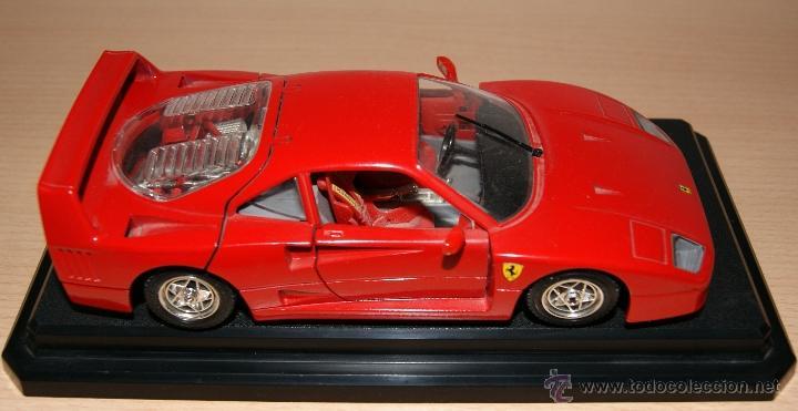 Coches a escala: Lote Coches Mercedes-Benz SSK 1928 / Ferrari F40 1987 / Ferrari 250 LM Monza 1966 - Burago - Foto 16 - 41436932