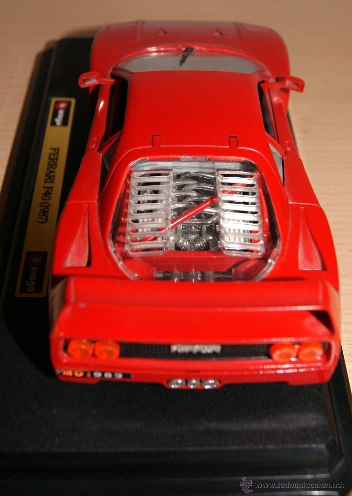 Coches a escala: Lote Coches Mercedes-Benz SSK 1928 / Ferrari F40 1987 / Ferrari 250 LM Monza 1966 - Burago - Foto 17 - 41436932