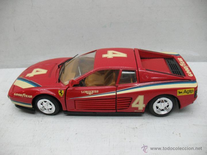 Coches a escala: Revell - Coche Ferrari Testarossa 4 1988 Metalkit Good Year - Escala 1:24 - Foto 2 - 42247673