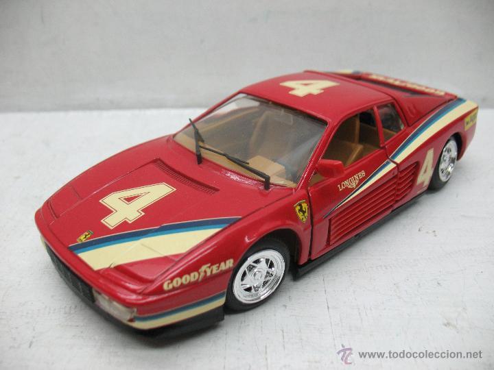 Coches a escala: Revell - Coche Ferrari Testarossa 4 1988 Metalkit Good Year - Escala 1:24 - Foto 4 - 42247673