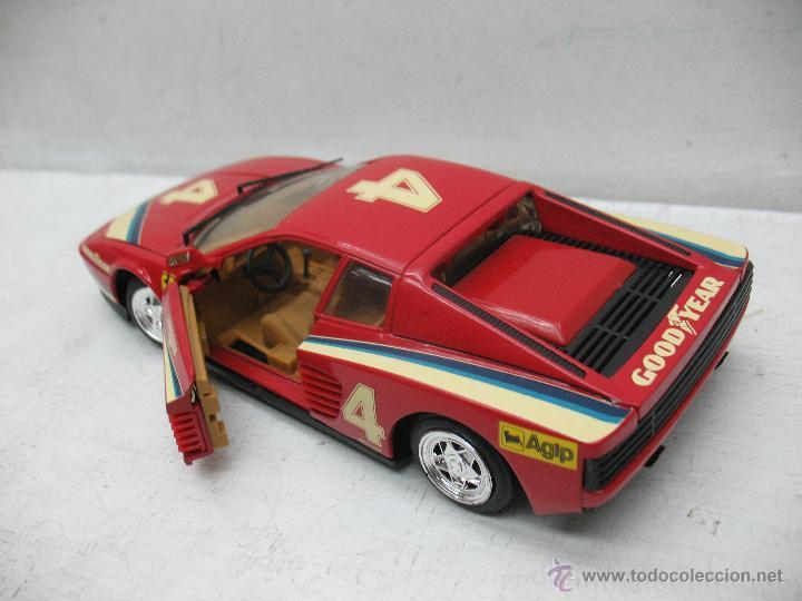 Coches a escala: Revell - Coche Ferrari Testarossa 4 1988 Metalkit Good Year - Escala 1:24 - Foto 5 - 42247673