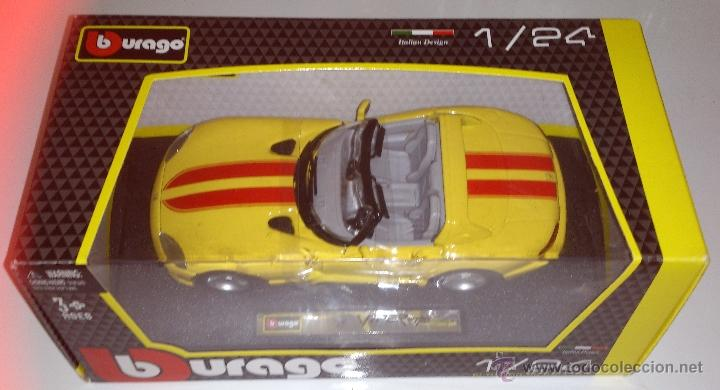 Coches a escala: Burago escala 1:24 dodge Viper - Foto 1 - 42576315