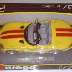 Coches a escala: BURAGO ESCALA 1:24 DODGE VIPER. Lote 42576315