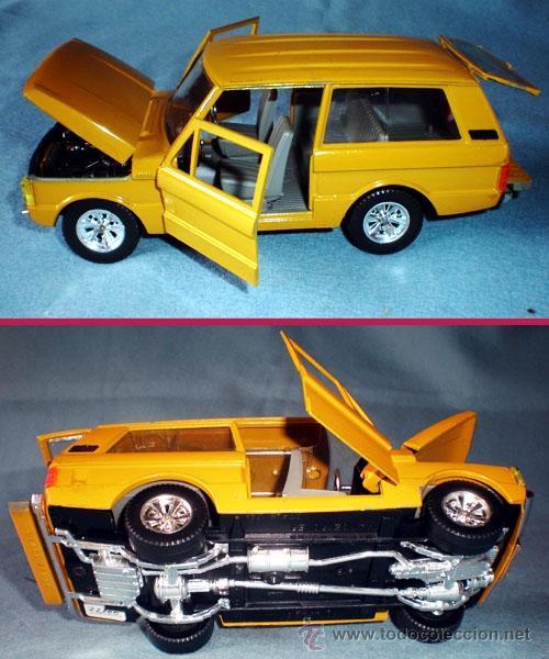Coches a escala: AUTO RANGER ROVER . Rfª: 0104 Metal y plástico SCALA 1/24 BURAGO - Made ITALY - RARO.!! - Foto 3 - 43420818