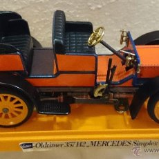 Coches a escala: SCHUCO OLDTIMER MERECEDES SIMPLEX, REF.357142, COL. ORANGE. MADE IN GERMANY 70'S. Lote 43567960