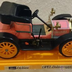Coches a escala: SCHUCO OLDTIMER OPEL DOKTORWAGEN, REF.357141, COL. PINK. MADE IN GERMANY 70'S. Lote 43567996