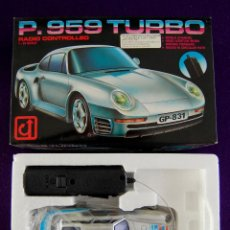 Coches a escala: COCHE P. 959 TURBO. GREAT POWER. RADIO CONTROLLED. ESCALA 1:24. EN SU CAJA ORIGINAL. SIN USAR.. Lote 47339144