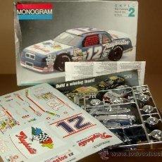 Coches a escala: BUICK NASCAR RAYBESTOS #12 - MONOGRAM USA KIT PLASTICO 1/24 SIN MONTAR NUEVO EN SU CAJA. Lote 30698375