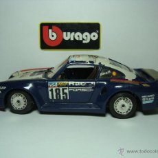 Coches a escala: PORSCHE 959 RAID DE BURAGO BBURAGO.ESCALA 1,24. VERSION AÑO 1988. Lote 29960641