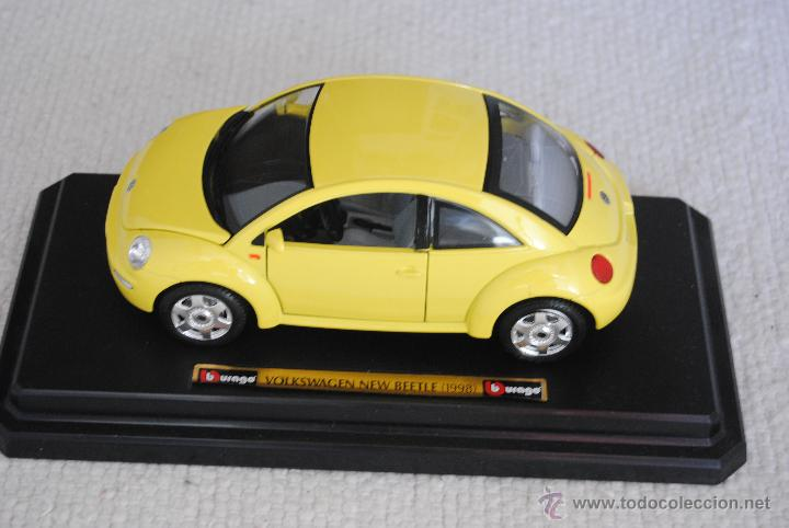 Coches a escala: COCHE VW NEW BEETLE BURAGO - Foto 1 - 48216289