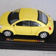 Coches a escala: COCHE VW NEW BEETLE BURAGO. Lote 48216289