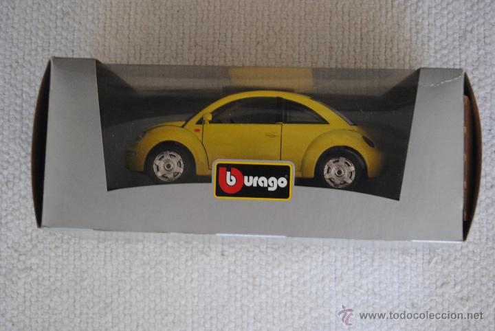 Coches a escala: COCHE VW NEW BEETLE BURAGO - Foto 4 - 48216289
