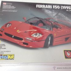 Coches a escala: BBURAGO METALKIT FERRARI F50 ( 1995 ) COD. 5552. ESCALA 1/24. Lote 50856069