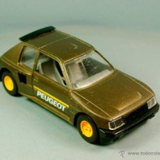 Coches a escala: BBURAGO 1/24 BURAGO 1:24 - PEUGEOT 205 TURBO 16 - MADE IN ITALY VINTAGE. Lote 50956356