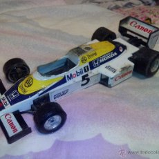 Coches a escala: WILLIAMS FW08 BURAGO, MADE IN ITALY. Lote 51094972