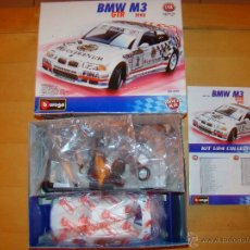 Coches a escala: BMW M3 GTR 1993 - BURAGO METAL KIT 1/24. Lote 52851093