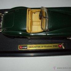 Coches a escala: JAGUAR XK 120 ROADSTER BURAGO. Lote 52892032