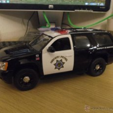 Coches a escala: CHEVY TAHOE U.S POLICE CAR (CHP). JADA 1/24. Lote 53122994