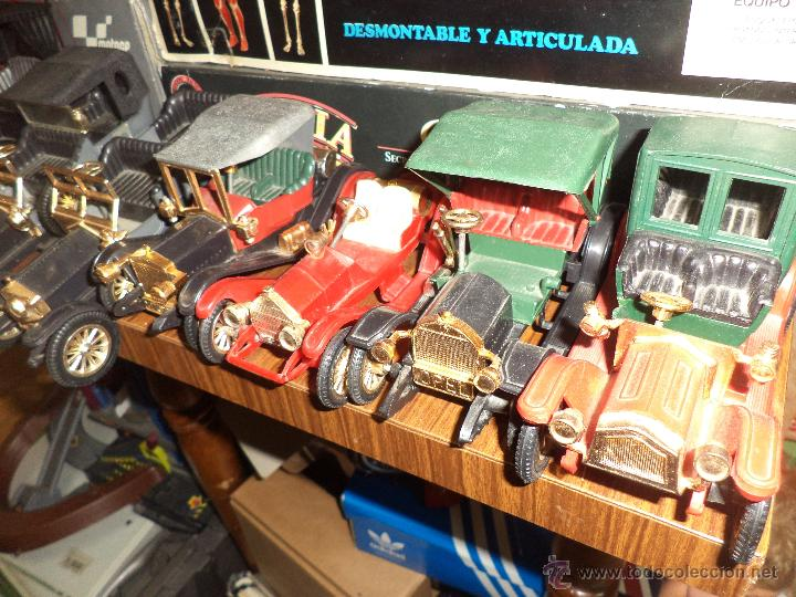 Coches a escala: Colección Nacoral de coches clásicos.16 coches de época esc.1/24 aprox.Made in Spain. - Foto 7 - 53430107
