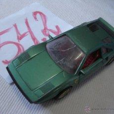 Coches a escala: ANTIGUO FERRARI GTO DE GUILOY. Lote 53557769
