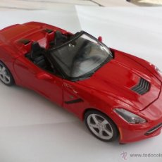 Coches a escala: MAISTO CORVETTE STINGRAY. 2014. ESCALA 1/24. 01528. COCHE.. Lote 54249881