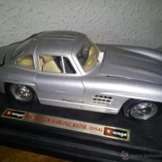 Coches a escala: MERCEDES BENZ 300 SL 1957 BURAGO. Lote 54424813