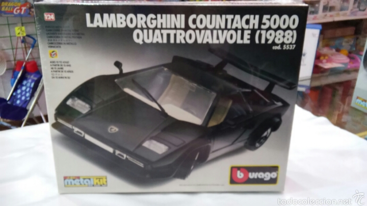 Coche Lamborghini Countach 5000 1988 Kit Mont Buy Model Cars At