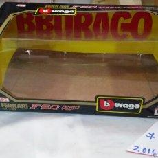 Coches a escala: CAJA VACÍA COCHE FERRARI F50 HARD TOP (1995) 1:24.BURAGO ITALIA BBURAGO.SIN USO.. Lote 58333753