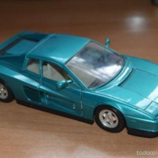 Coches a escala: GUILOY - MADE IN SPAIN - FERRARI TESTAROSSA - ESCALA 1/24 - 1984 - ESTADO SEGUN FOTOS. Lote 60452255