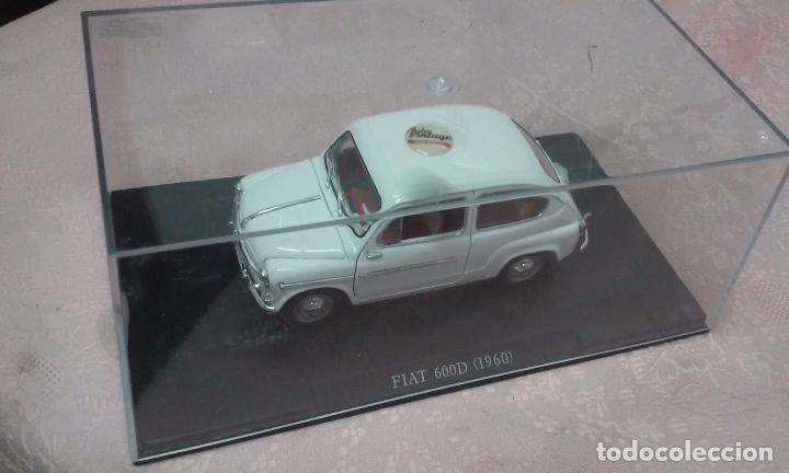 COCHE FIAT 600 D 1960 ESCALA 1/24-1:24 LEO MODELS FIAT METAL MODEL CAR (Juguetes - Coches a Escala 1:24)