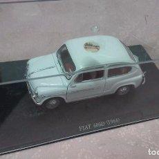 Coches a escala: COCHE FIAT 600 D 1960 ESCALA 1/24-1:24 LEO MODELS FIAT METAL MODEL CAR. Lote 61501331