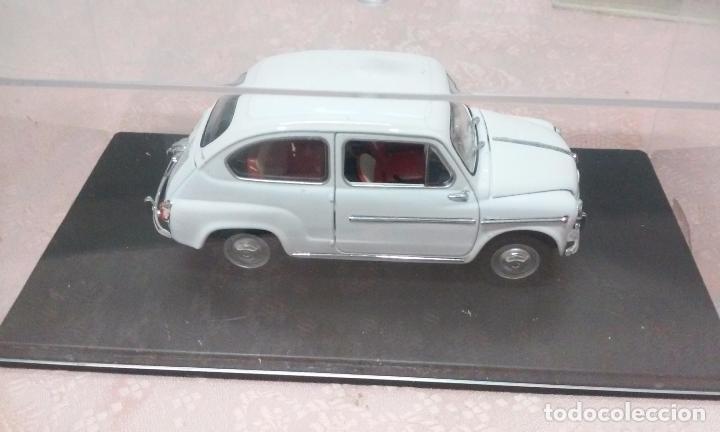 Coches a escala: COCHE FIAT 600 D 1960 ESCALA 1/24-1:24 LEO MODELS FIAT METAL MODEL CAR - Foto 4 - 175402644