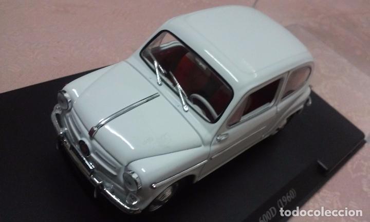 Coches a escala: COCHE FIAT 600 D 1960 ESCALA 1/24-1:24 LEO MODELS FIAT METAL MODEL CAR - Foto 9 - 175402644