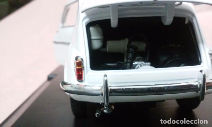 Coches a escala: COCHE FIAT 600 D 1960 ESCALA 1/24-1:24 LEO MODELS FIAT METAL MODEL CAR - Foto 13 - 175402644