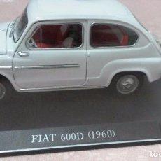 Coches a escala: COCHE FIAT 600 D 1960 ESCALA 1/24-1:24 LEO MODELS FIAT METAL MODEL CAR. Lote 81588551