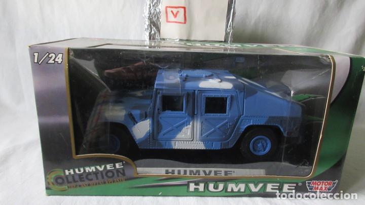 HUMVEE C 1 24 MOTOR MAX (Juguetes - Coches a Escala 1:24)