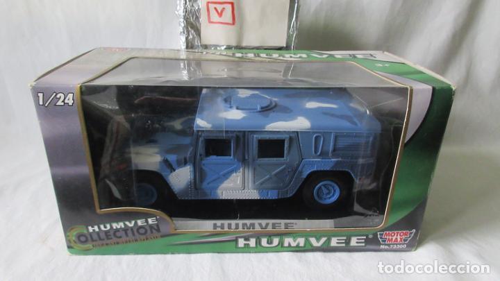 HUMVEE 1/24 MOTOR MAX (Juguetes - Coches a Escala 1:24)