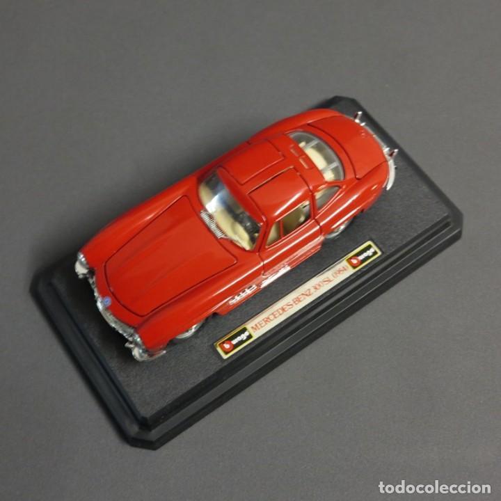 Coches a escala: ANTIGUO COCHE DE COLECCIÓN DE BBURAGO. Mercedes Benz 300 SL. SIN USAR, COMO NUEVO. - Foto 3 - 70114669