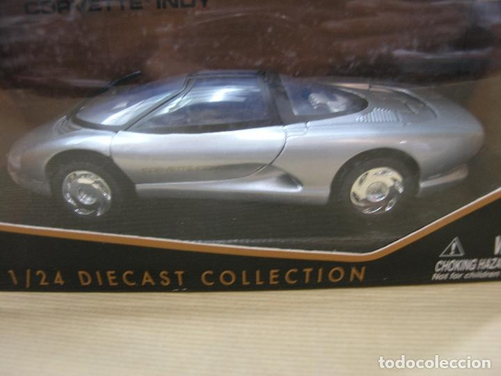 CORVETTE INDY MOTOR MAX DIECAST COLLECTION (Juguetes - Coches a Escala 1:24)