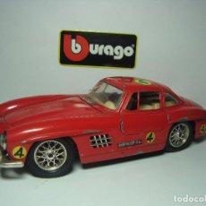 Coches a escala: MERCEDES BENZ 300 SL DE BBURAGO BURAGO 1,24. Lote 51079676