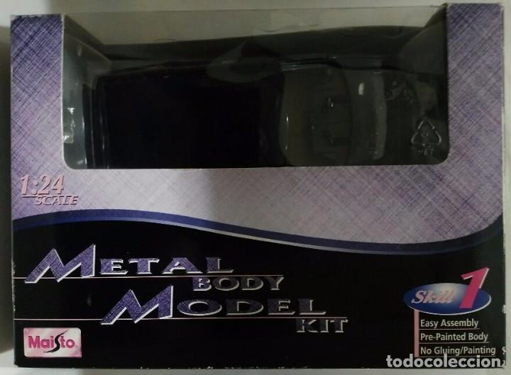 Coches a escala: METAL BODY MODEL KIT - ESCALA 1:24 MAISTO - - Foto 4 - 76714883